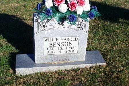 BENSON, WILLIE HAROLD - Putnam County, Tennessee | WILLIE HAROLD BENSON - Tennessee Gravestone Photos
