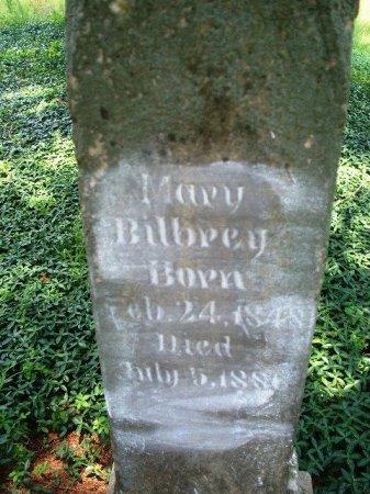 BILBREY, MARY A. - Putnam County, Tennessee | MARY A. BILBREY - Tennessee Gravestone Photos