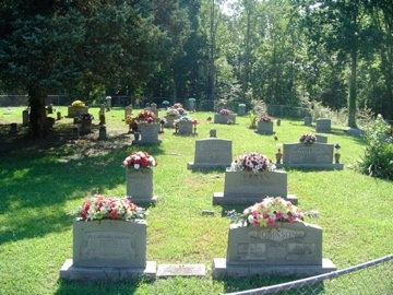 *CEMETERY VIEW,  - Putnam County, Tennessee |  *CEMETERY VIEW - Tennessee Gravestone Photos