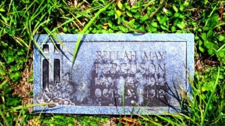 FERGUSON, BEULAH MAY - Putnam County, Tennessee | BEULAH MAY FERGUSON - Tennessee Gravestone Photos