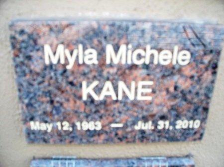 KANE, MYLA MICHELE - Putnam County, Tennessee | MYLA MICHELE KANE - Tennessee Gravestone Photos