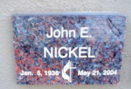 NICKEL, JOHN E. - Putnam County, Tennessee | JOHN E. NICKEL - Tennessee Gravestone Photos