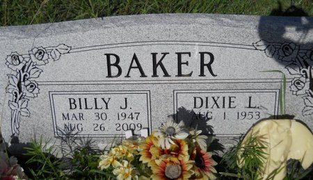 BAKER, BILLY J. - Rhea County, Tennessee   BILLY J. BAKER - Tennessee Gravestone Photos