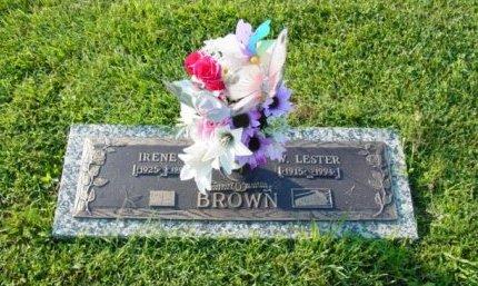 BROWN, IRENE - Rhea County, Tennessee | IRENE BROWN - Tennessee Gravestone Photos