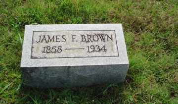 BROWN, JAMES F. - Rhea County, Tennessee | JAMES F. BROWN - Tennessee Gravestone Photos