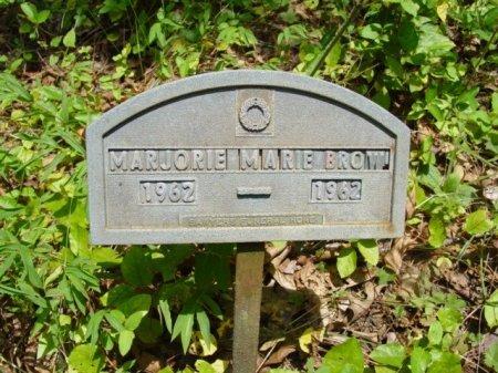 BROWN, MARJORIE MARIE - Rhea County, Tennessee | MARJORIE MARIE BROWN - Tennessee Gravestone Photos