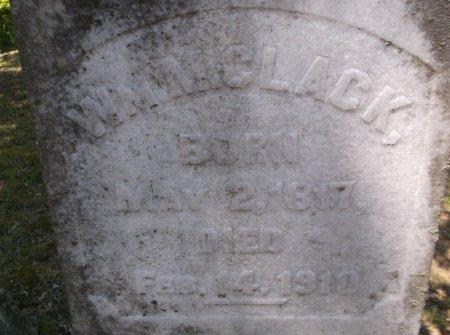 CLACK, W. M. (CLOSEUP) - Rhea County, Tennessee | W. M. (CLOSEUP) CLACK - Tennessee Gravestone Photos