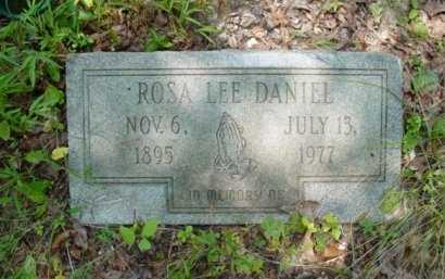 BROOKS DANIEL, ROSA LEE - Rhea County, Tennessee   ROSA LEE BROOKS DANIEL - Tennessee Gravestone Photos