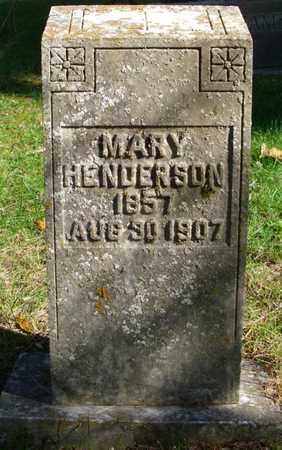 HENDERSON, MARY - Rhea County, Tennessee | MARY HENDERSON - Tennessee Gravestone Photos