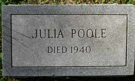 POOLE, JULIA - Rhea County, Tennessee | JULIA POOLE - Tennessee Gravestone Photos