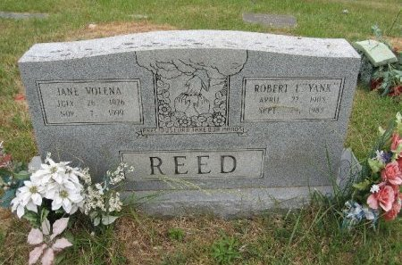 REED, JANE VOLENA - Rhea County, Tennessee   JANE VOLENA REED - Tennessee Gravestone Photos