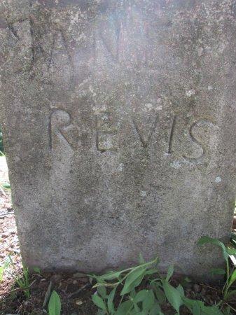 REVIS, JANE - Rhea County, Tennessee | JANE REVIS - Tennessee Gravestone Photos
