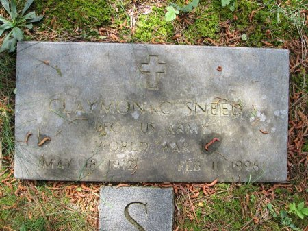 SNEED (VETERAN WWII), CLAYMON CLEON - Rhea County, Tennessee   CLAYMON CLEON SNEED (VETERAN WWII) - Tennessee Gravestone Photos