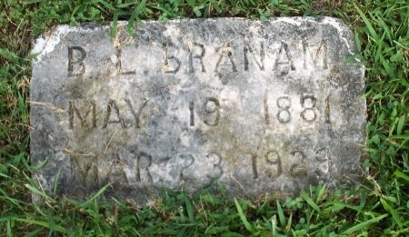 BRANAM, B. L. - Roane County, Tennessee | B. L. BRANAM - Tennessee Gravestone Photos