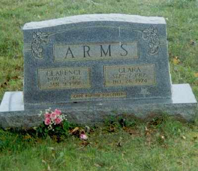 ARMS, CLARA - Robertson County, Tennessee   CLARA ARMS - Tennessee Gravestone Photos