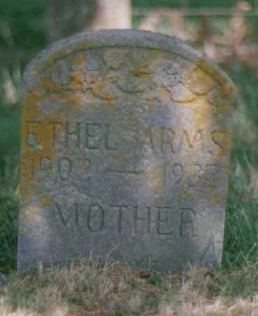 ARMS, ETHEL - Robertson County, Tennessee | ETHEL ARMS - Tennessee Gravestone Photos