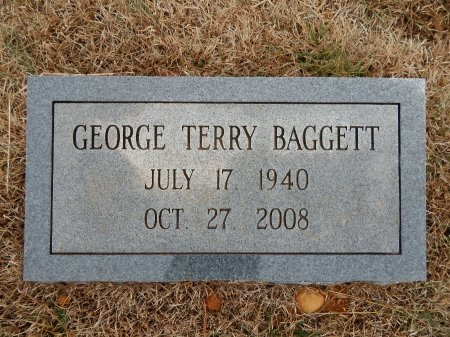 BAGGETT, GEORGE TERRY - Robertson County, Tennessee   GEORGE TERRY BAGGETT - Tennessee Gravestone Photos