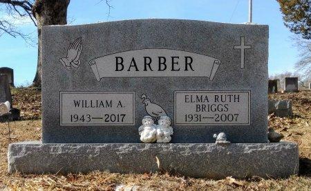 BRIGGS BARBER, ELMA RUTH - Robertson County, Tennessee | ELMA RUTH BRIGGS BARBER - Tennessee Gravestone Photos