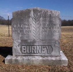 "WOODALL BURNEY, ISADORA ""ISSIE DORA"" - Robertson County, Tennessee | ISADORA ""ISSIE DORA"" WOODALL BURNEY - Tennessee Gravestone Photos"