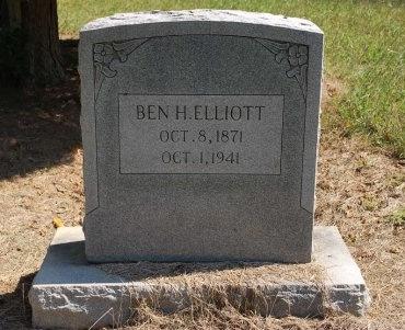 ELLIOTT, BENJAMIN HENRY - Robertson County, Tennessee   BENJAMIN HENRY ELLIOTT - Tennessee Gravestone Photos