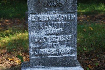ELLIOTT, ETHEL ANN (CLOSE UP) - Robertson County, Tennessee | ETHEL ANN (CLOSE UP) ELLIOTT - Tennessee Gravestone Photos