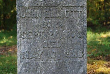 ELLIOTT, JOHN ROBERT (CLOSE UP) - Robertson County, Tennessee | JOHN ROBERT (CLOSE UP) ELLIOTT - Tennessee Gravestone Photos