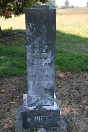 ELLIOTT, MARTHA JANE  - Robertson County, Tennessee | MARTHA JANE  ELLIOTT - Tennessee Gravestone Photos
