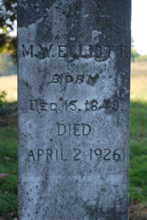 ELLIOTT, MARTHA JANE (CLOSE UP) - Robertson County, Tennessee | MARTHA JANE (CLOSE UP) ELLIOTT - Tennessee Gravestone Photos