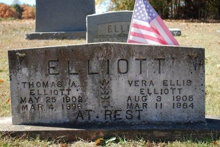 ELLIOTT, THOMAS ALEXANDER - Robertson County, Tennessee   THOMAS ALEXANDER ELLIOTT - Tennessee Gravestone Photos