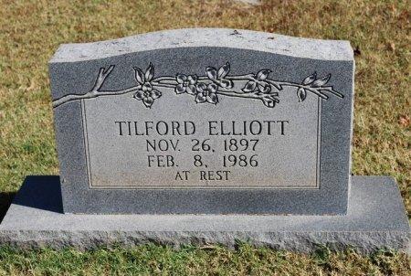 ELLIOTT, TILFORD - Robertson County, Tennessee   TILFORD ELLIOTT - Tennessee Gravestone Photos