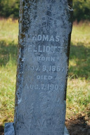 ELLIOTT, THOMAS CHRISTOPHER (CLOSE UP) - Robertson County, Tennessee | THOMAS CHRISTOPHER (CLOSE UP) ELLIOTT - Tennessee Gravestone Photos