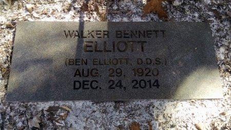 ELLIOTT, WALKER BENNETT - Robertson County, Tennessee | WALKER BENNETT ELLIOTT - Tennessee Gravestone Photos