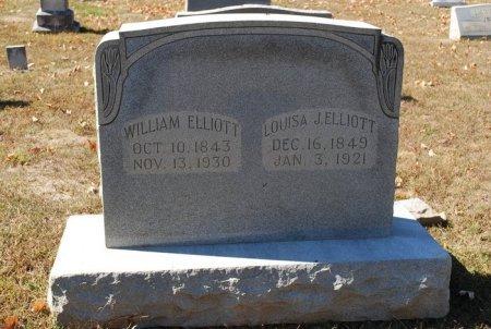 ELLIOTT, LOUISE JANE - Robertson County, Tennessee | LOUISE JANE ELLIOTT - Tennessee Gravestone Photos