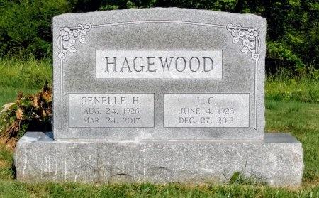 HAGEWOOD, L. C. - Robertson County, Tennessee   L. C. HAGEWOOD - Tennessee Gravestone Photos