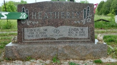 HEATHERLY, LINDA M. - Robertson County, Tennessee | LINDA M. HEATHERLY - Tennessee Gravestone Photos