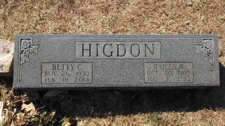 BURNEY HIGDON, BETTY C. - Robertson County, Tennessee | BETTY C. BURNEY HIGDON - Tennessee Gravestone Photos