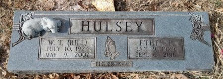 HULSEY, ETHEL EARLINE - Robertson County, Tennessee | ETHEL EARLINE HULSEY - Tennessee Gravestone Photos