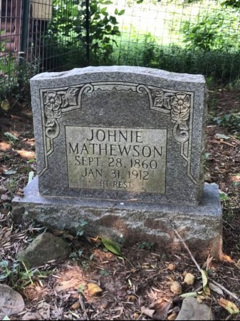 MATHEWSON, JOHNIE - Robertson County, Tennessee   JOHNIE MATHEWSON - Tennessee Gravestone Photos