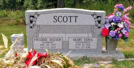 "SCOTT, MARY EDNA ""TOOTIEGREEN"" - Robertson County, Tennessee | MARY EDNA ""TOOTIEGREEN"" SCOTT - Tennessee Gravestone Photos"