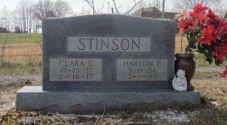 STINSON, CLARA PAULINE - Robertson County, Tennessee   CLARA PAULINE STINSON - Tennessee Gravestone Photos