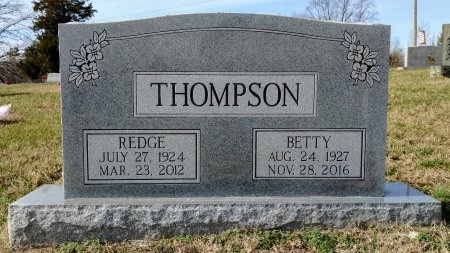 THOMPSON, BETTY JEAN - Robertson County, Tennessee | BETTY JEAN THOMPSON - Tennessee Gravestone Photos