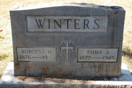 WINTERS, EMMA J. - Robertson County, Tennessee | EMMA J. WINTERS - Tennessee Gravestone Photos