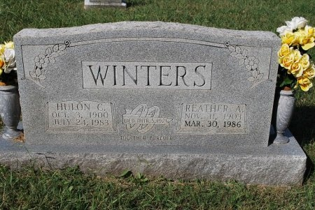 WINTERS, REATHER ALMA - Robertson County, Tennessee | REATHER ALMA WINTERS - Tennessee Gravestone Photos