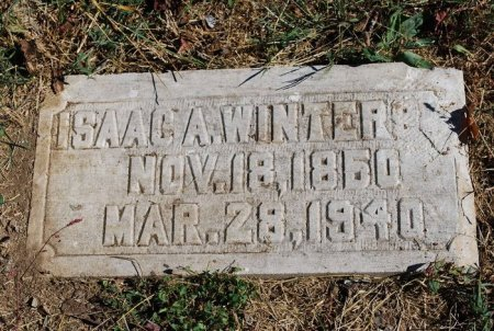 WINTERS, ISAAC ANDERSON - Robertson County, Tennessee   ISAAC ANDERSON WINTERS - Tennessee Gravestone Photos
