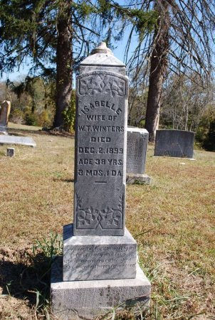 ORMAN WINTERS, ISABELLE  - Robertson County, Tennessee | ISABELLE  ORMAN WINTERS - Tennessee Gravestone Photos