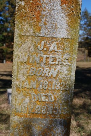 WINTERS, JOHN A. - Robertson County, Tennessee | JOHN A. WINTERS - Tennessee Gravestone Photos