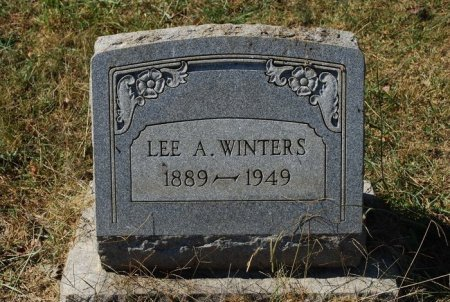 WINTERS, LEE A. - Robertson County, Tennessee | LEE A. WINTERS - Tennessee Gravestone Photos