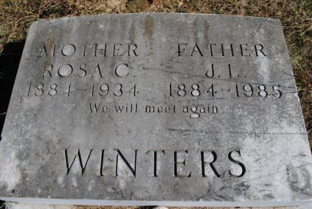 WINTERS, JAMES LAFAYETTE - Robertson County, Tennessee | JAMES LAFAYETTE WINTERS - Tennessee Gravestone Photos