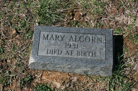 ALCORN, MARY - Rutherford County, Tennessee   MARY ALCORN - Tennessee Gravestone Photos
