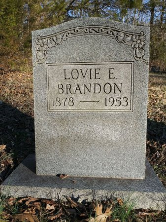 BRANDON, LOVIE E. - Rutherford County, Tennessee | LOVIE E. BRANDON - Tennessee Gravestone Photos